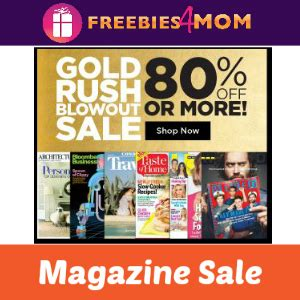 Gold Rush Sweepstakes Code - gold rush magazine sale 80 off or more