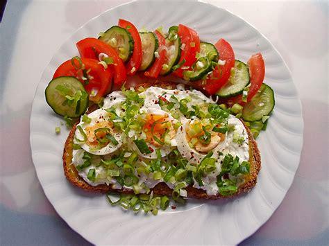 Gesundes Abendbrot Rezepte schnelles aber gesundes abendbrot rezept mit bild
