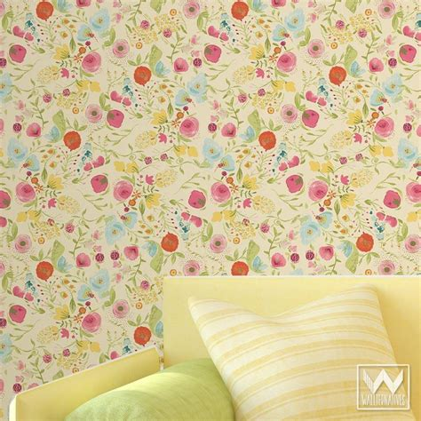 floral removable wallpaper bari j designs vintage floral pattern is now a removable