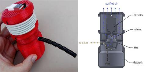 Mini Vacuum Cleaner Usb build your own 3d printed usb powered mini vacuum cleaner