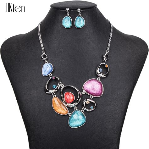 Fashion Accesories Set aliexpress buy ms1504377 fashion jewelry sets hight quality 4 colors necklace sets for