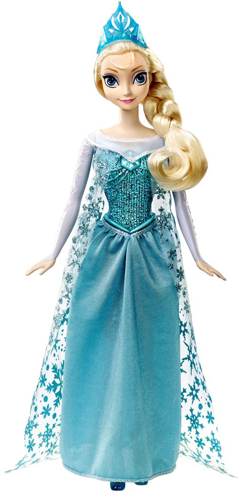 frozen and dolls mattel disney frozen singing elsa doll toys