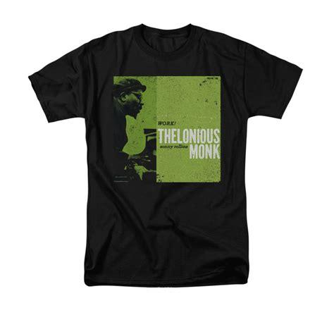 Work Tshirt Black thelonious monk shirt work black t shirt thelonious monk