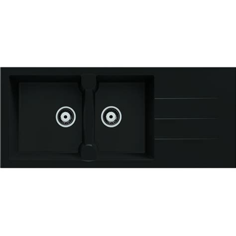Evier Encastrable Noir by Ides De Evier Noir 2 Bacs Encastrable Galerie Dimages