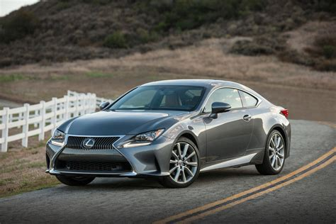 lexus models 2016 2016 lexus rc coupe revealed gets 200t model with 241 hp