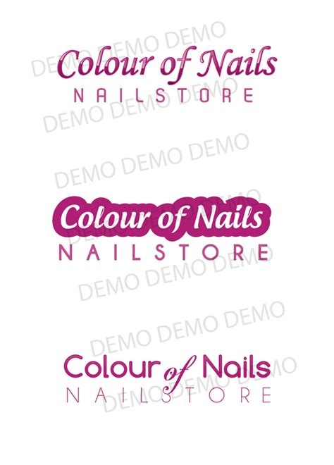 Logo Nagelstudio by Nageldesign Logodesign Nagelstudio Wien Colours Of Nails
