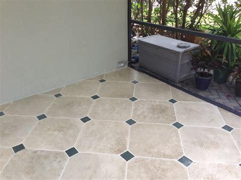 concrete designs florida tile patio with insert