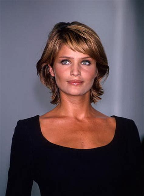 hairstyles for brunettes over 50 short shag hairstyles