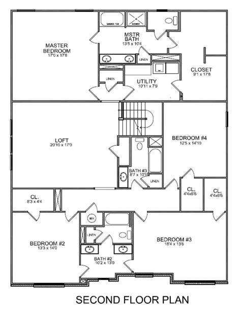 second floor plan second floor floor plans 2 floor plan shows jameson