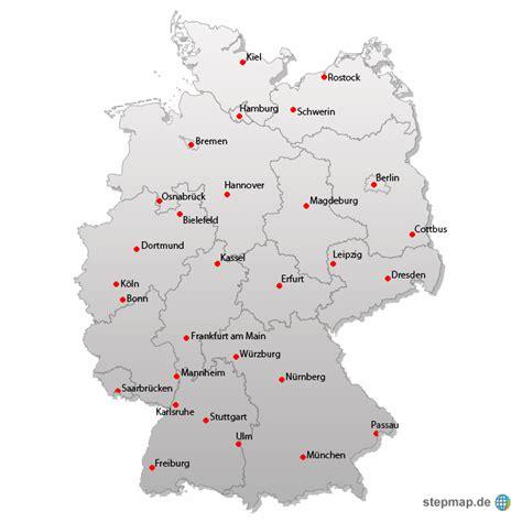 deutsches büro grüne karte formular deutschlandkarte sascha76 landkarte f 252 r deutschland