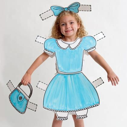 Paper Doll Costume To Make - creatively weekly up