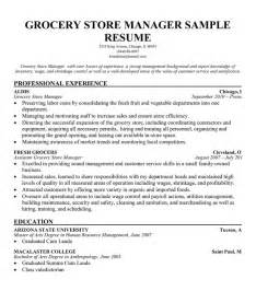 Produce Manager Resume Grocery Manager Images