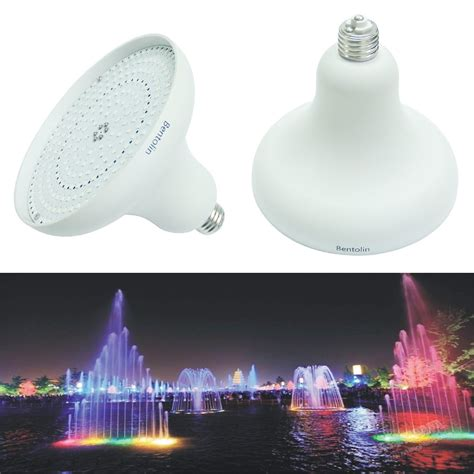 led swimming pool light bulb 252 led 120 volt color changing replacement swimming pool