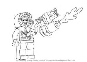 draw cold learn how to draw lego captain cold lego step by step