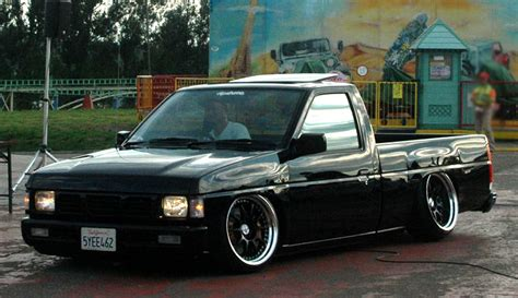 nissan hardbody hellaflush truck masters jdmeuro com jdm wheels and trends archive