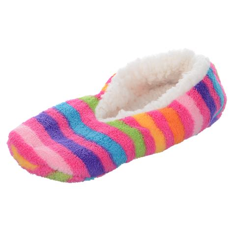 slipper material ballerina slippers cosy soft fabric chunky fleece
