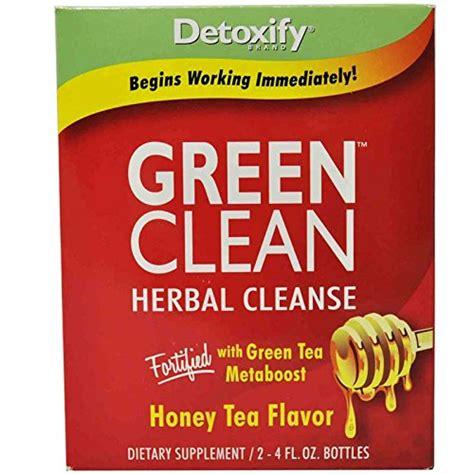 Green Tea Detox Brands by Detoxify Brand Green Clean Herbal Cleanse Honey Tea