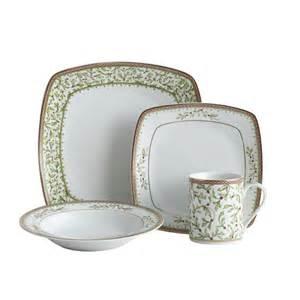 mikasa christmas square 32 piece dinnerware set holiday traditions ebay