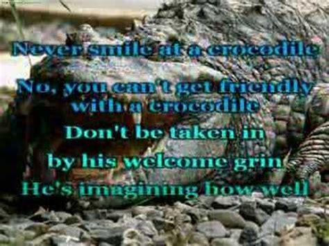 Never Smile at a Crocodile - YouTube