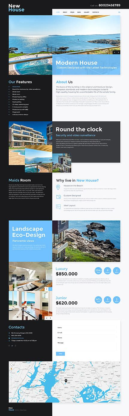joomla templates real estate real estate responsive joomla template