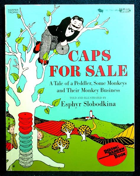 caps for sale by esphyr slobodkina reading rainbow book
