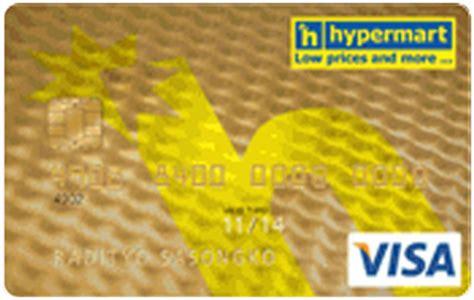 membuat kartu kredit mandiri hypermart kartu kredit mandiri visa hypermart gold jaringan visa
