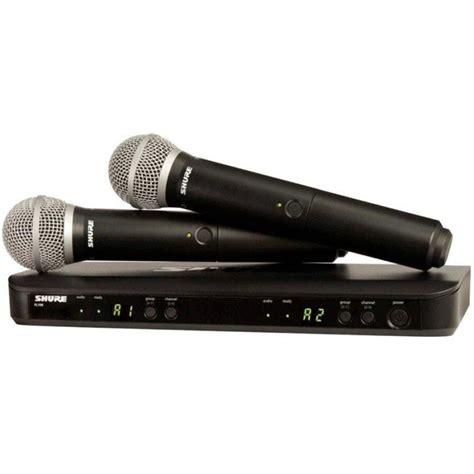 Murah Mic Wireless Shure Blx 288beta 58 Handheld Original jual shure blx288 sm58 harga murah primanada