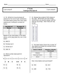 3rd Grade Math Staar Test Practice Worksheets by 1000 Images About Staar Math On Staar Test