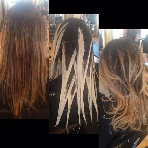 hairpainting balayage i want to specialize in this