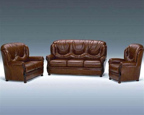 Leather Sofa Italian Classic Italian Leather Sofa Set 44ldls
