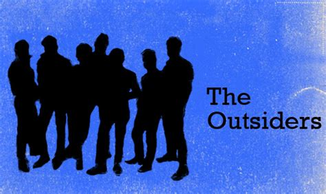 themes in the book the outsiders by se hinton the outsiders background info