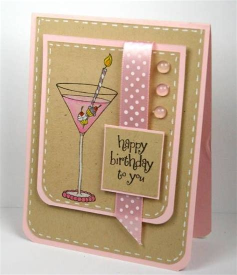 martini birthday card layout happy birthday and sts on pinterest