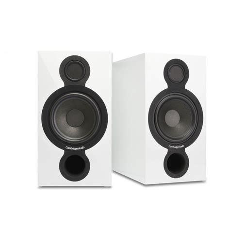 diffusori hi fi da scaffale cambridge audio aeromax 2 white coppia di casse acustiche