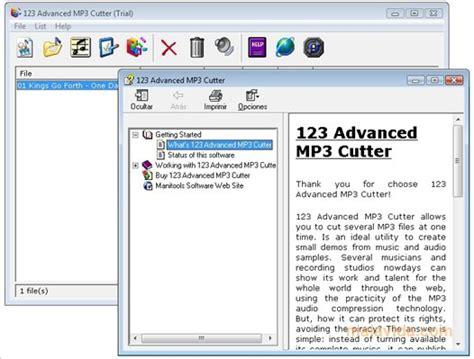 download advanced mp3 cutter for pc descargar advanced mp3 cutter 1 00 0014 gratis