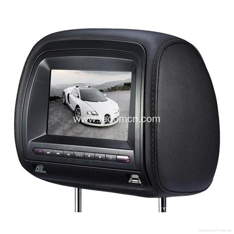 Headrest Bantal Mobil Hk Burberry headrest monitor dvd player with zip cover hong kong