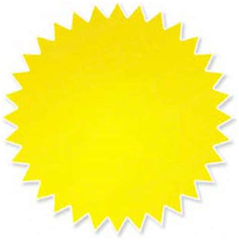 starburst sign template yellow starburst clipart best