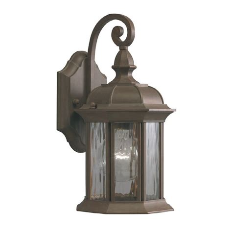 Outdoor Light Lowes Allen Roth Bellwood 12 7 8 In Bronze Outdoor Wall Mounted Light Lowe S Canada