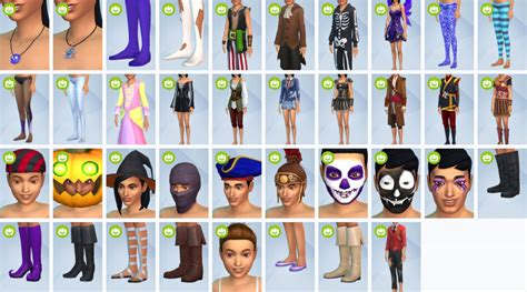 sims  spooky stuff pack sims