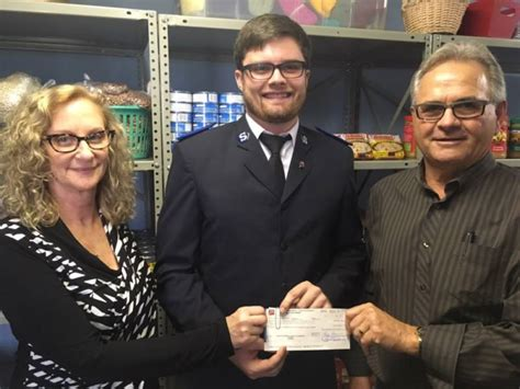 banister pipelines pipeline company donates to salvation army in wallaceburg