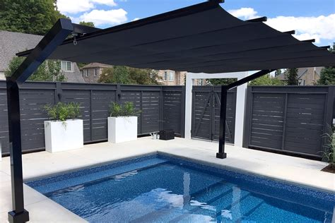 freestanding retractable canopy waterloo shadefx