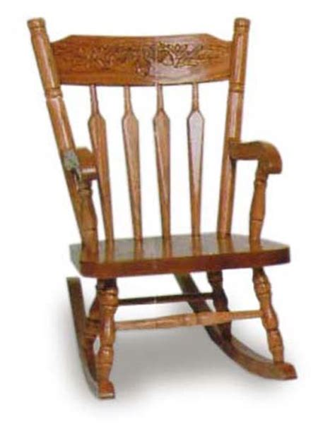 Oak Rocking Chairs by Acorn Child S Rocking Chair Amish Furniture For Nursery