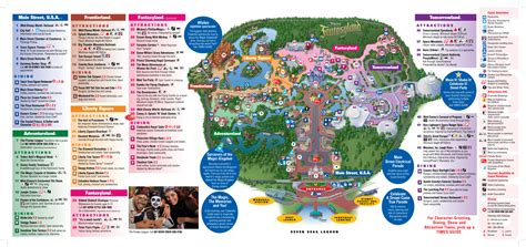 disney world magic kingdom map magic kingdom your orlando visit