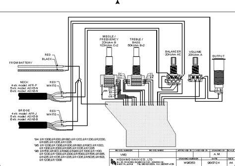 ibanez bass wiring diagram efcaviation