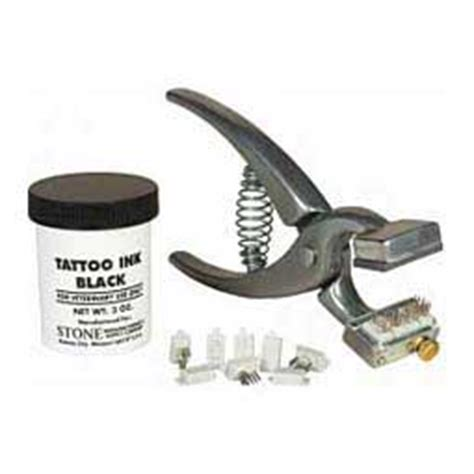 tattoo kit for goats tattoo farm ranch supplies