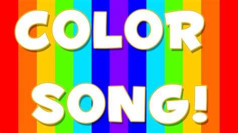 the song colors rainbow song color song rainbow color song