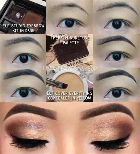elf eye brow kit for black hair elf eyebrow kit eyebrow tutorial using elf s studio brow