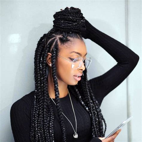 hair used for box braids 17 best ideas about box braids on pinterest black hair