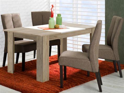 tavolo da pranzo tavolo da pranzo berylla 6 coperti colore quercia e bianco