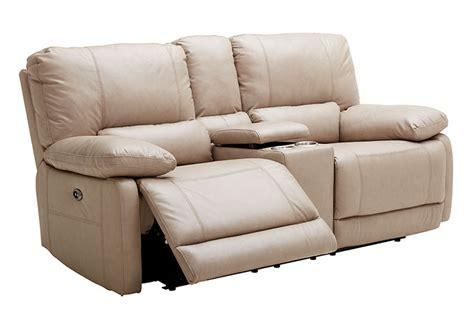 Kuka Sofa by Kuka Sand Reclining Sofa And Reclining Console