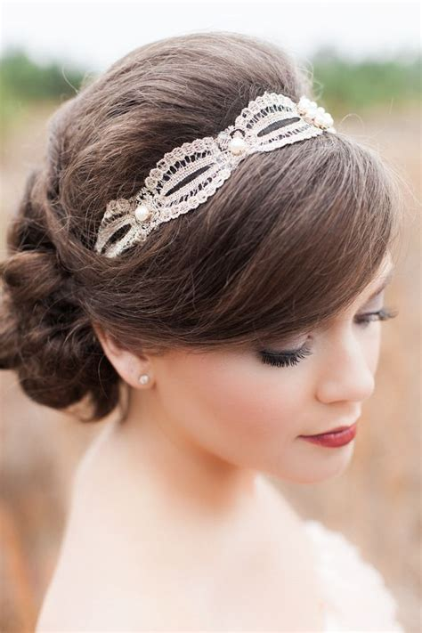 Vintage Wedding Hairstyles For Hair 2012 by Bridals Hair Accessories In Vintage Classic Style